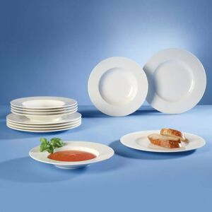 Villeroy & Boch Wonderful World White Obědový set, 12 ks