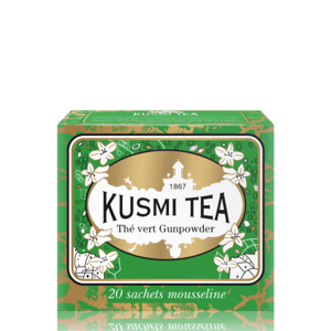 Kusmi Tea Gunpowder Green Tea, 20 sáčků