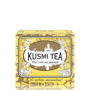 Kusmi Tea Green tea with Jasmine, 20 sáčků