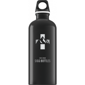 Lahev SIGG Mountain Black 0,6 l