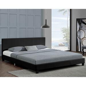 """Čalouněná postel,, Barcelona """"180 x 200 cm -černá"""