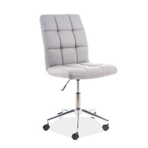 Kancelářská židle Q-020 sivý materiál