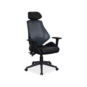 Kancelářská židle Q-406 černá